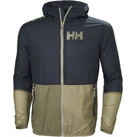 Helly Hansen M's Active Windbreaker Jacket Graphite Blue